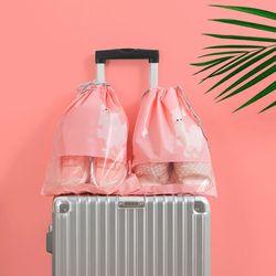 귀여운 여행용 신발 PVC 파우치-대형