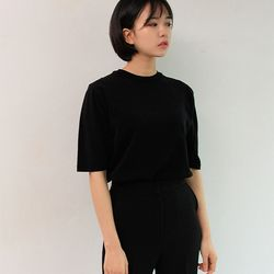 career round half knit (4color)