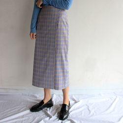 palace check long skirt (2color)