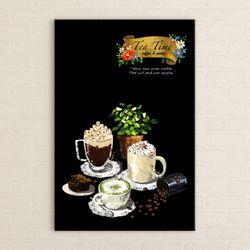 iv097-커피타임세로중형노프레임