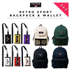 [무료배송/1&1] RETRO SPORT BAG & WALLET