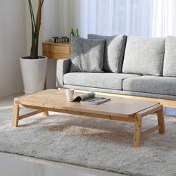 아르메 리노 소나무 원목 테이블 1300