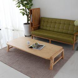 아르메 리노 소나무 원목 테이블 1600