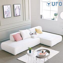 UFO 루이스 3인 패브릭소파 + 카우치