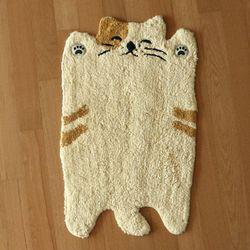 이케무라 기지개 고양이 발매트