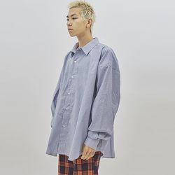 over-fit cotton shirt (2 color) - UNISEX