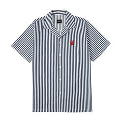 TRS CLASSIC TONGUE STRIPE OPEN SHIRT NA (BR1717)