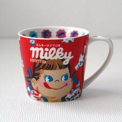 페코짱 도기 머그컵 (밀키)