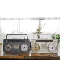 빈티지 카셋트 시계 (온도계)