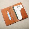 핸드메이드 가죽 여권 노트 커버(각인추가)