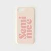 하드케이스 세미나이스 (Pink) (아이폰8플러스)
