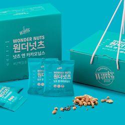 [무료배송] 원더넛츠 넛츠앤카카오닙스 1박스(20gx28봉)
