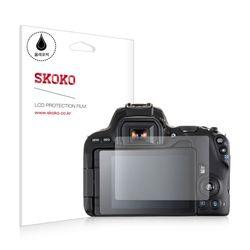 스코코 캐논 200D 올레포빅 카메라 액정보호필름 2매