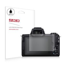 스코코 캐논 M50 올레포빅 카메라 액정보호필름 2매