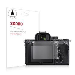 스코코 소니 A7R 3 올레포빅 카메라 액정보호필름 2매