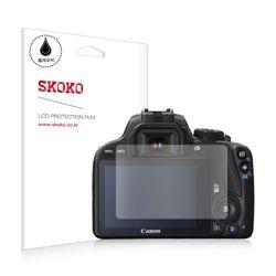 스코코 캐논 M100 올레포빅 카메라 액정보호필름 2매