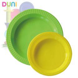 듀니컬러릭스 접시 1팩20개입 167729