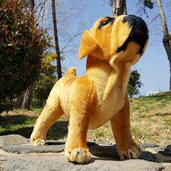 진짜같은 리얼펫 강아지인형 불독 44cm CH1392127