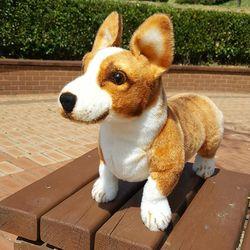 진짜같은 리얼펫 강아지인형 웰시코기 44cm CH1392122