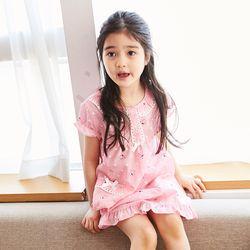 바우와우 아동 드레스