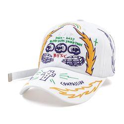 RIP BASEBALL CAP WHITE