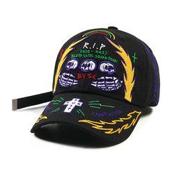 RIP BASEBALL CAP BLACK