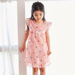동물원 아동 드레스