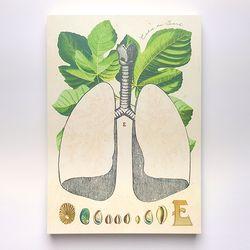 헤비메모패드 - Lungs (A5)