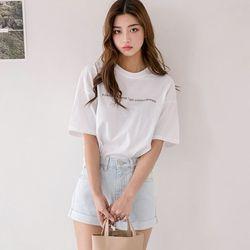 [로코식스] 아트 레터링 티셔츠