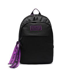 [엑소 찬열 착용] ALMOST BLUE X UNION OBJET ULTRA VIOLET BACKPACK - BLACK