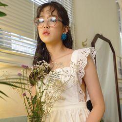 LETTER WHITE DRESS