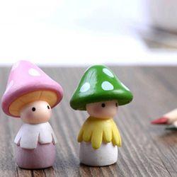 피규어 버섯인형 1개 (색상랜덤)