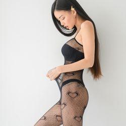 뮤트 올인원 스타킹