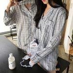 eye patch pajama set