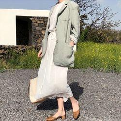 low linen jacket