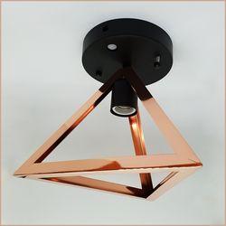 [키고조명]삼각 센서등 로즈골드 캐닝 LED조명 현관등