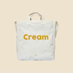 PVC 2WAY CROSS BAG (얼모스트블루 크로스백)
