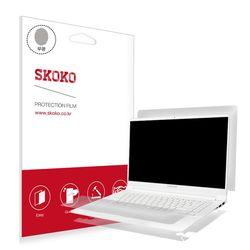 스코코 삼성 노트북9 NT900X5J 무광 외부필름 각1매