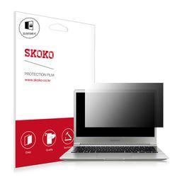 스코코 삼성 NT900X3J 프라이버시 액정보호필름 1매