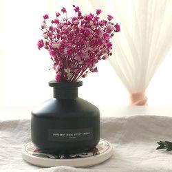 시크 블랙 안개꽃 디퓨저(핑크)