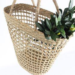 내추럴 해초가방-씨그라스 네트가방