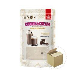 까로망 쿠키앤크림 파우더 800g 1박스(12개)프라페