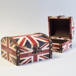 런던 사각 가방-소