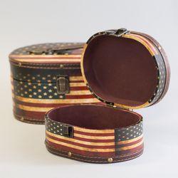 미국 가방(타원형)-대