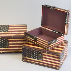 미국 박스(사각)-중