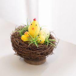 병아리 둥지 작품