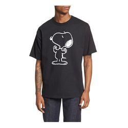 Champion USA Heritage SNOOPY Unisex T Shirts black
