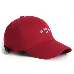 1982 W PLATEAU CAP RED