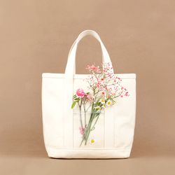 Water Mini Bag - Oxford Cotton Ivory