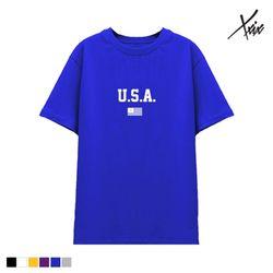 XXIX - U.S.A 면 반팔 - 6color - J8X-002